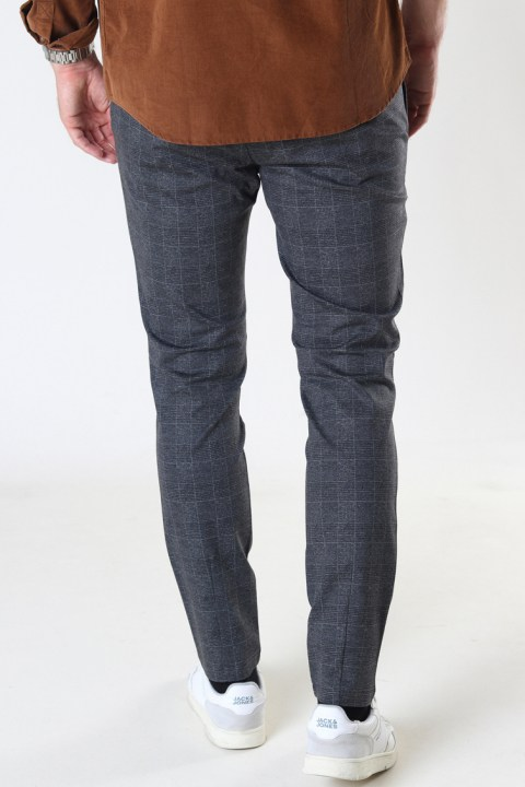ONLY & SONS ONSMARK CHECK PANTS HY GW 9887 NOOS Black