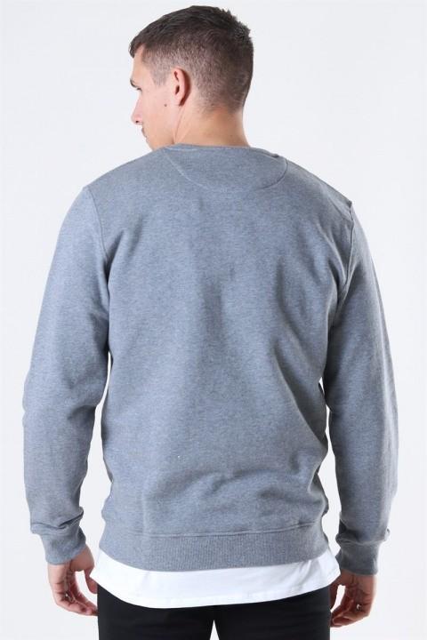 Lyle & Scott Crew Neck Sweatshirt Mid Grey Marl