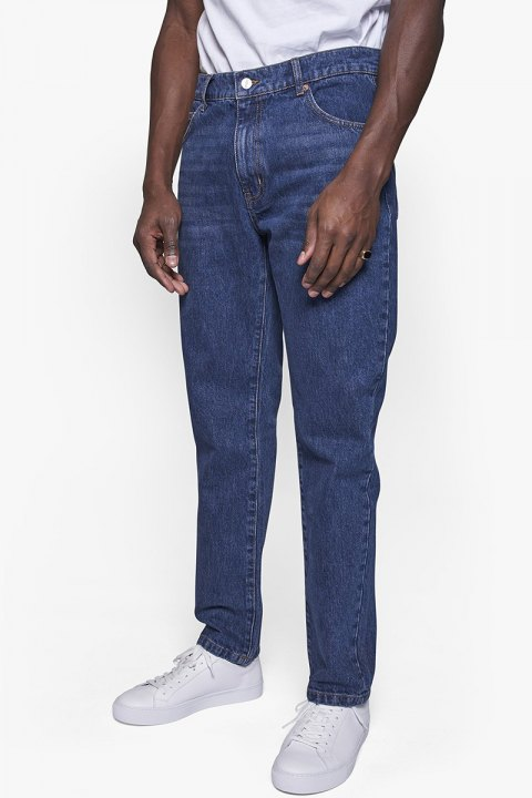 Woodbird Doc Dark Vintage Jeans Blue Vintage
