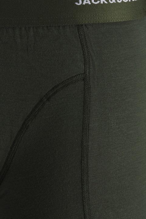 Jack & Jones JACBASIC BAMBOO TRUNKS 3 PACK NOOS Forest Night Black - Navy blazer
