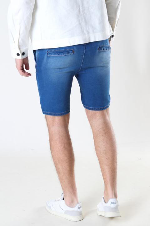 Denim project DPJogg shorts 110 MEDIUM BLUE