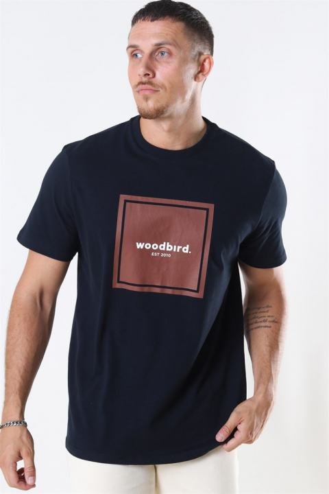 WoodBird Our Box Jubi T-shirt Black