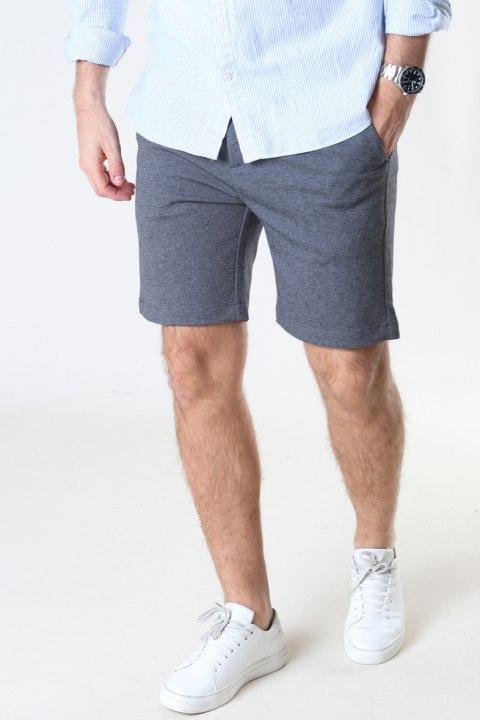 Clean Cut Copenhagen Prato Jersey Shorts Dark Grey Mix 02