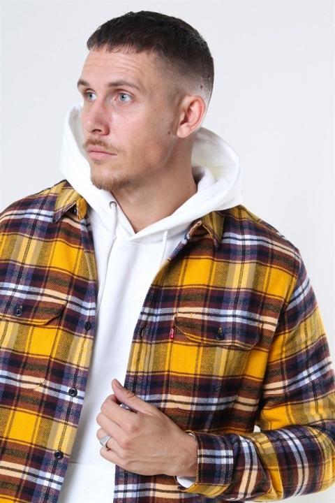 Levis Jackson Worker Skjorte Golden Yellow