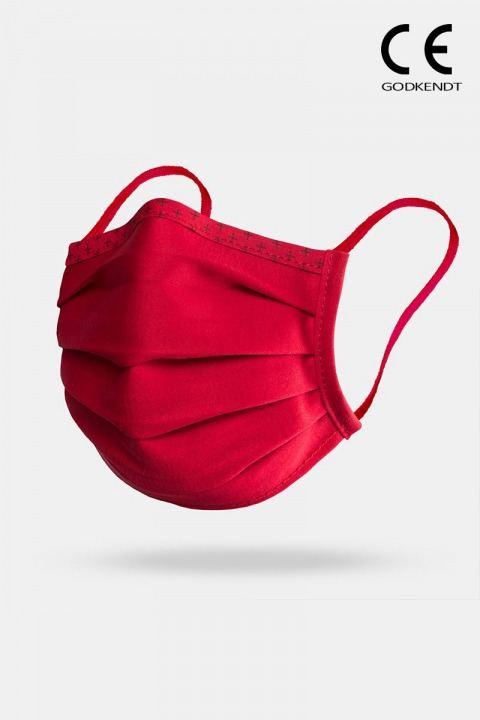 Isko Vital Supreme Line Face Cover Red