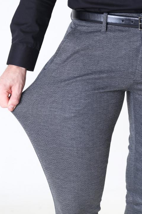 Solid Dave Barro Pants Medium Grey Mel