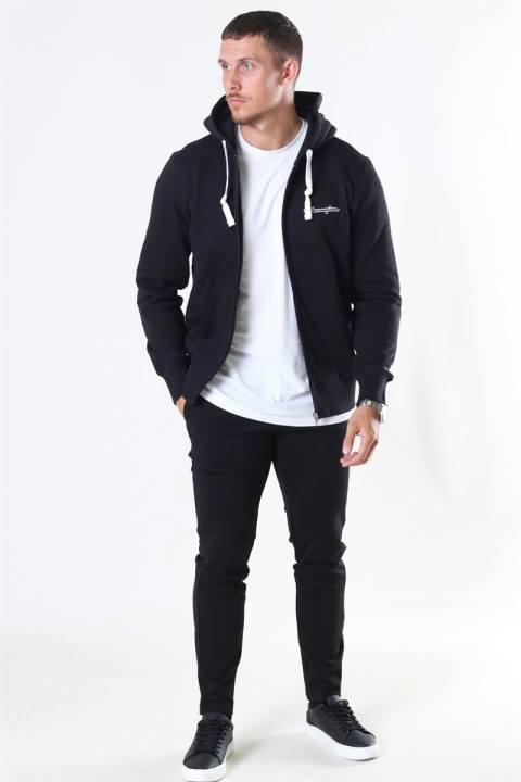 Champion Hooded Full Zip Sweatshirt Black