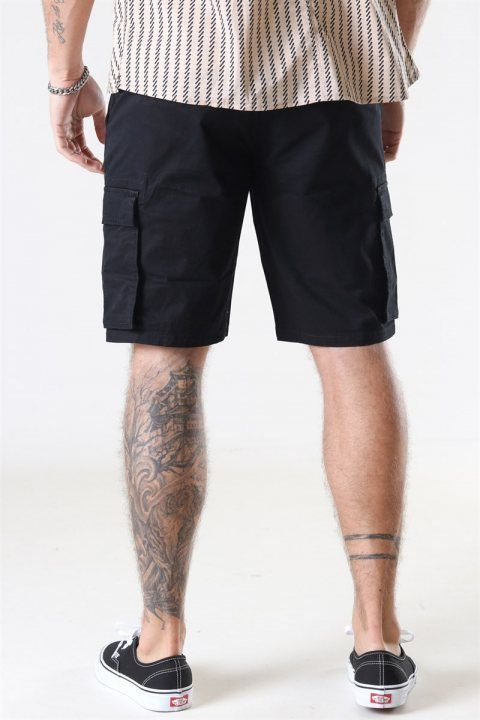 Only & Sons Cam Stage Cargo Shorts Black
