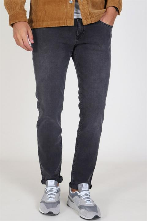Woodbird Matti Coal Jeans Grey