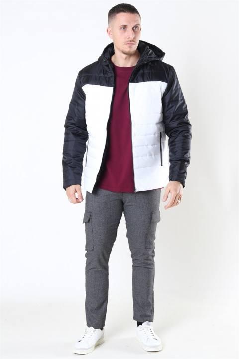 Denim Project Puffer Jacket White