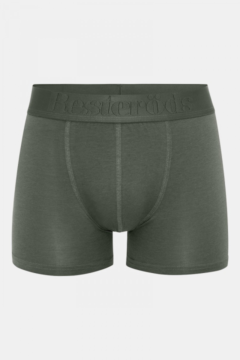 Resteröds Bambu 3-Pack Gunnar Boxershorts Navy/ Grey/ Army