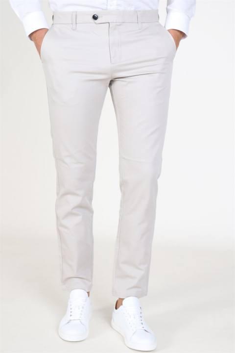 Køb Selected Slim Carlo Pants B Noos Silver Lining