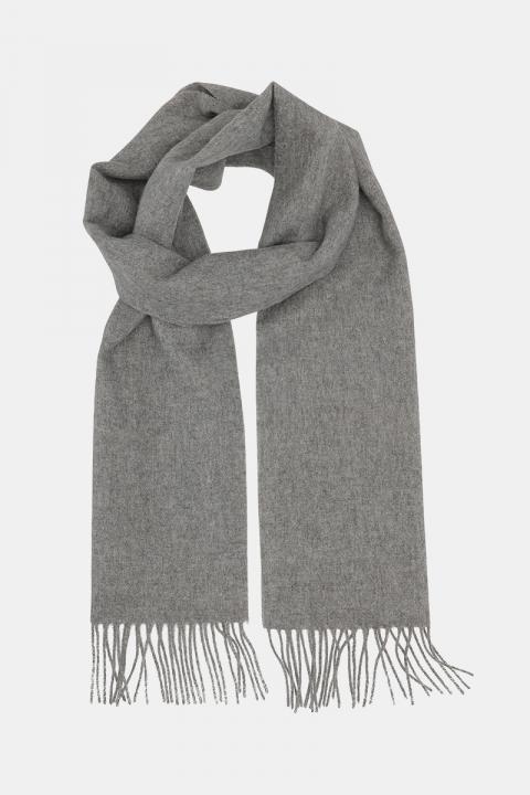 Køb Clean Cut Copenhagen Wool Scarf Light Grey Mel
