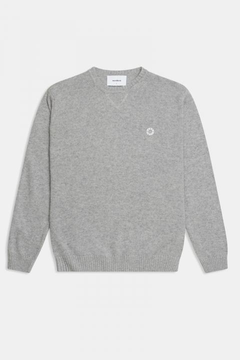 Woodbird Kriller Wool Knit Grey