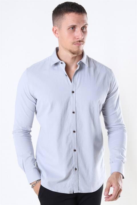 Jeff Earman Skjorte Light Grey