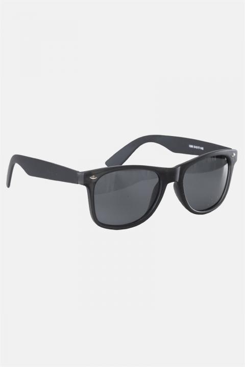 Køb Fashion 1398 Wayfarer Solbrille Black Rubber Grey Lens