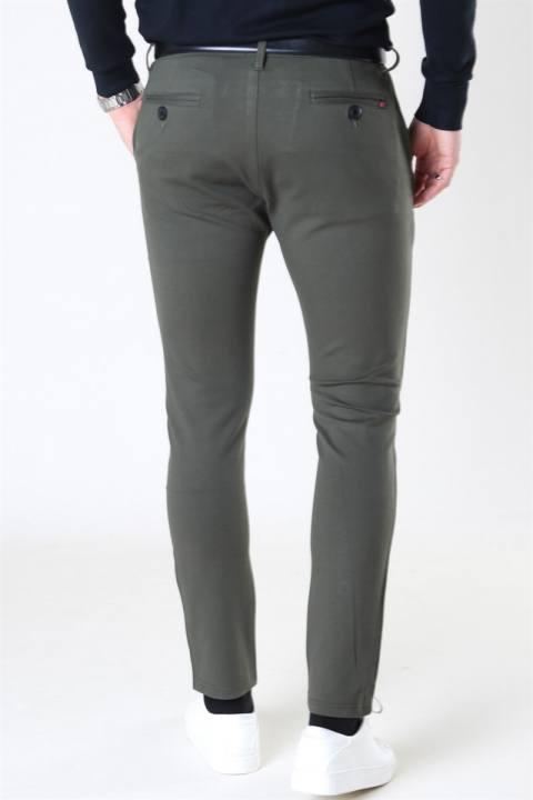 Denim Project Ponte Roma Pants Olive
