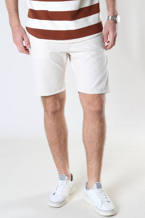 Just Junkies Mag Shorts Offwhite 000 - Off white