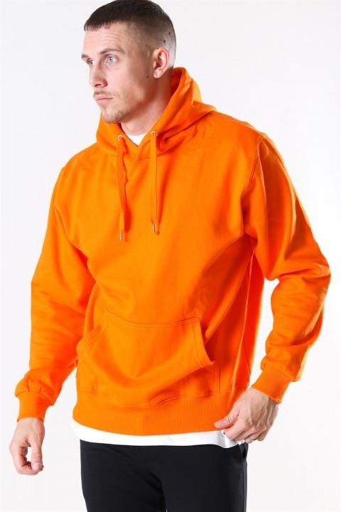 Bilde av Basic Brand Hooded Genser Orange