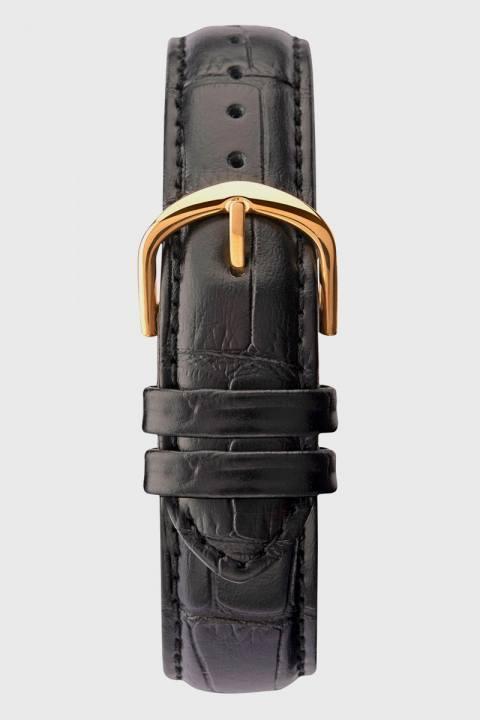 Sekonda 1838 Classic Leather Ur Black/Gold
