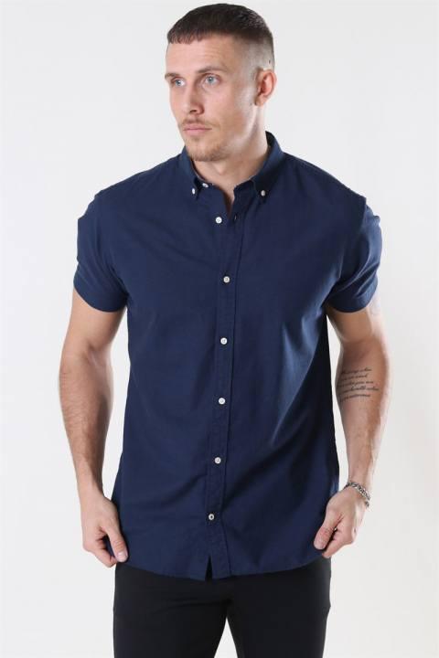 Jack & Jones Summer Skjorte S/S Navy Blazer