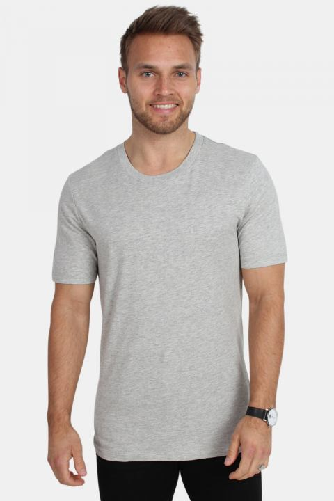 Køb Selected The Perfect Tee O-Neck Light Grey Mellange