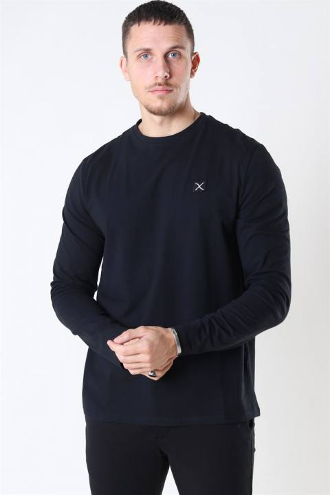 Køb Clean Cut Basic Organic T-shirt LS Black