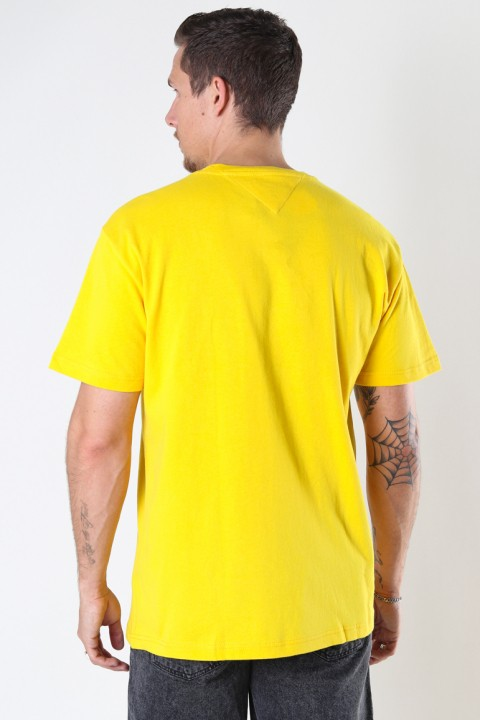 Tommy Jeans TJM TOMMY BADGE TEE Pollen