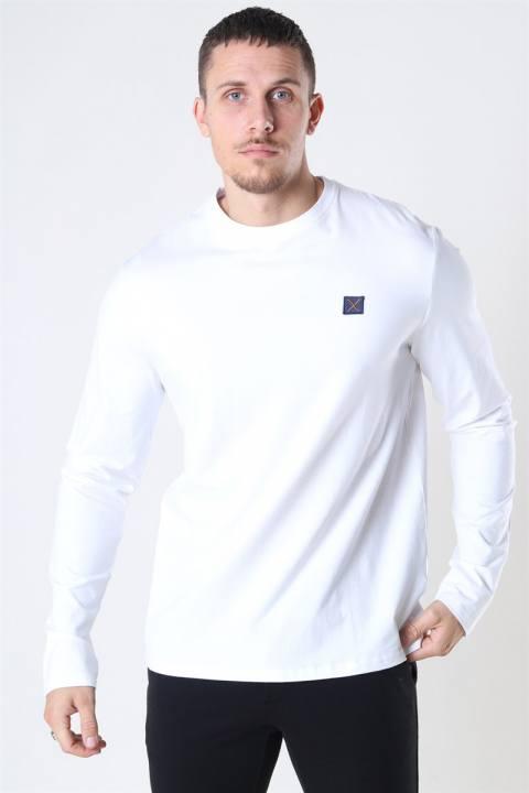 Køb Clean Cut Basic Organic T-shirt LS White