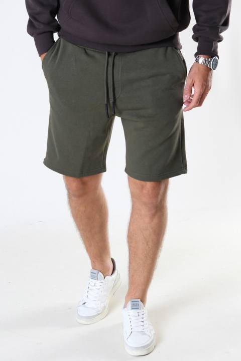Only & Sons Onsceres Life Sweat Shorts Olive Night