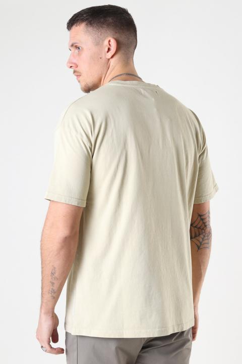 Just Junkies Acid Tee 286 Moist Sand