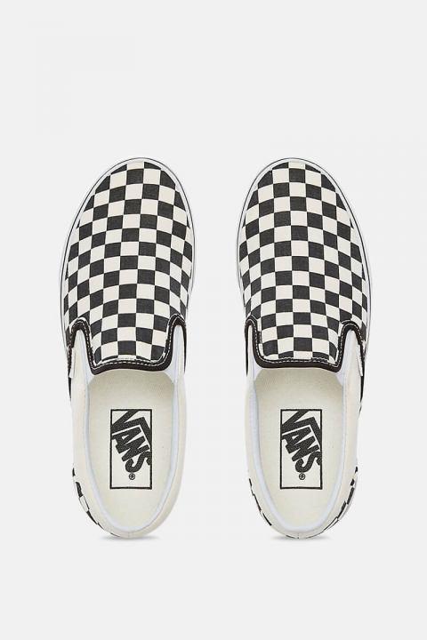 Vans Classic Slip-On Sneakers Blk/WhtChckerboard/Wht