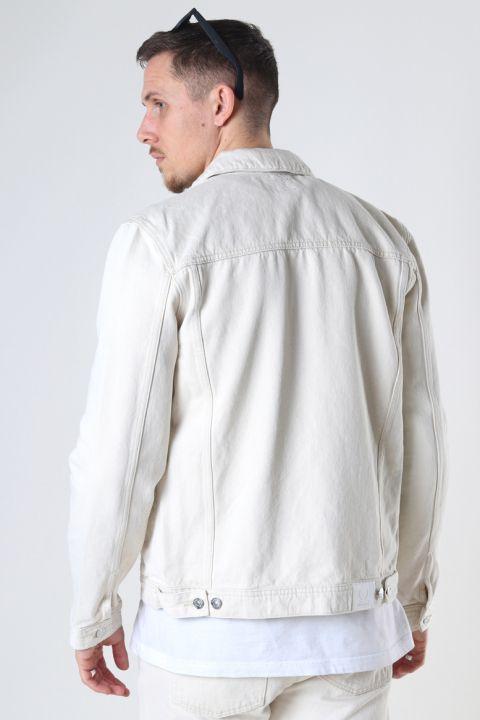 Denim project Organic Denim Jacket 127 SAND WASH