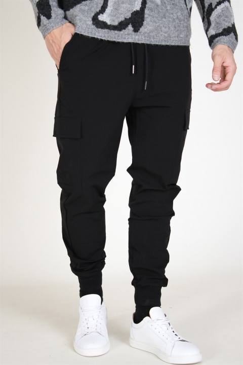 Image of Just Junkies Oliver Pants Black/Black (1574776247-XS)