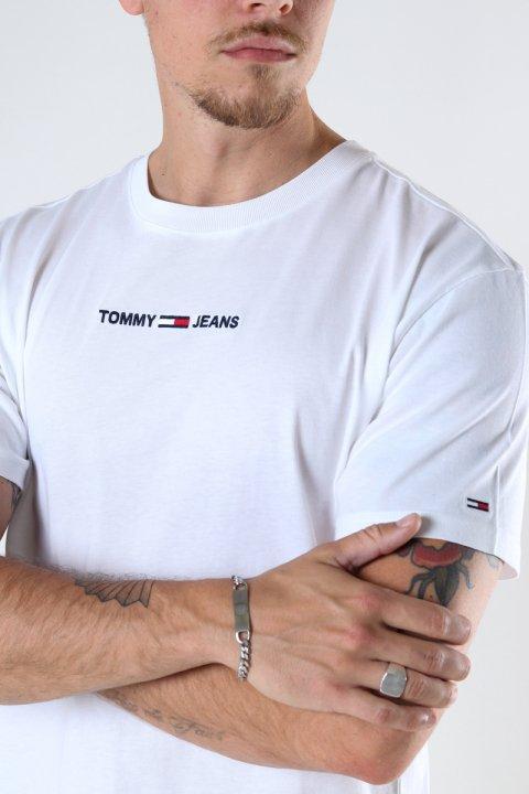 TJM SMALL TEXT TEE White