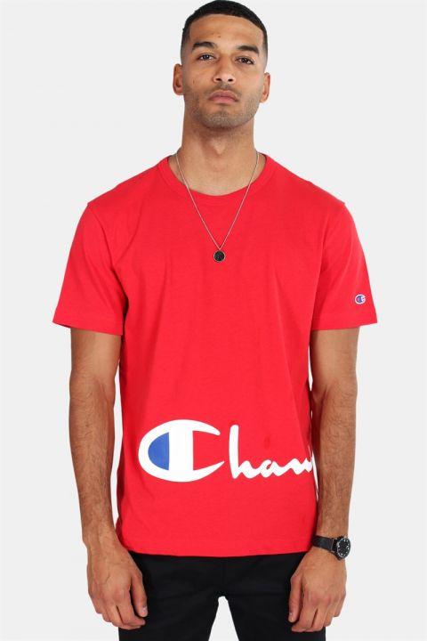 Champion Crewneck T-shirt Red