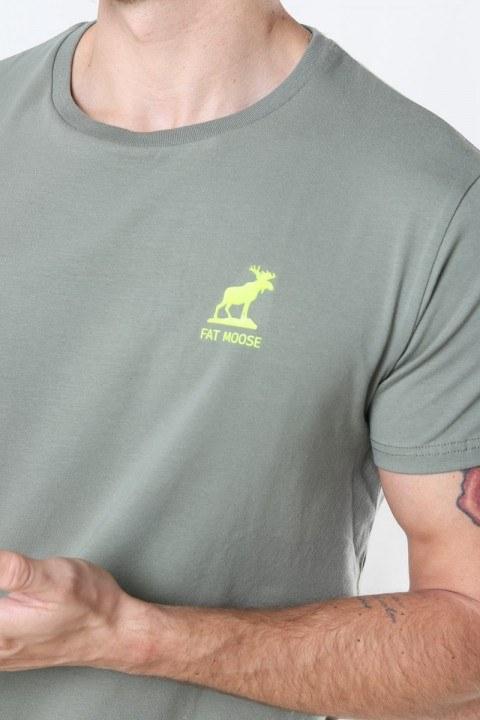 Fat Moose Brady Tee Dusty Green
