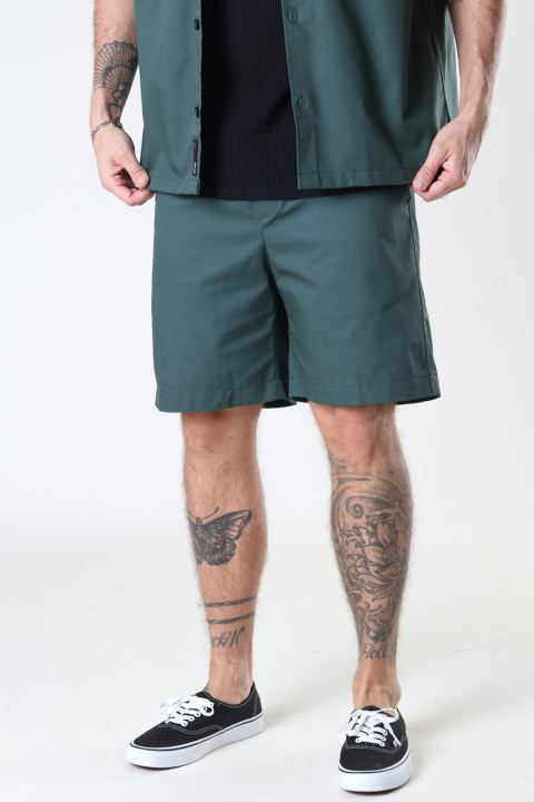 ONLY & SONS ONSNOAR COMPACT TC TWILL SHORTS Jungle Green