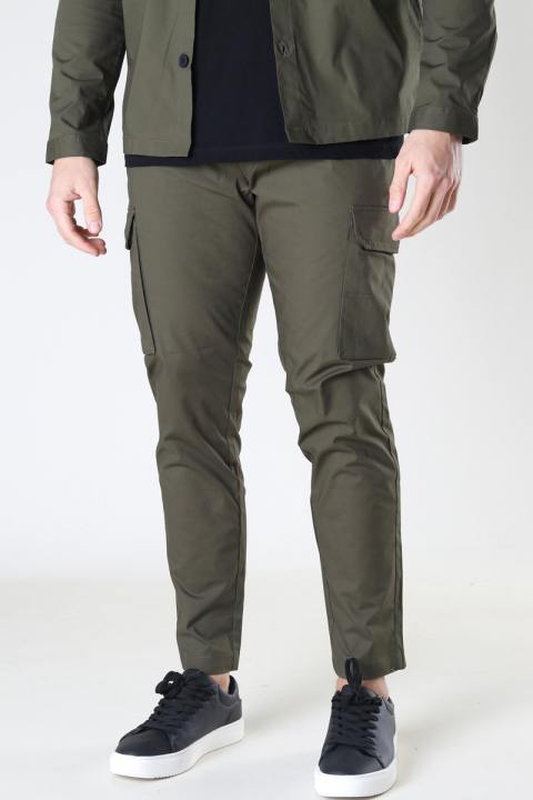 Clean Cut Copenhagen Milano Ripstop Stretch Pants Army