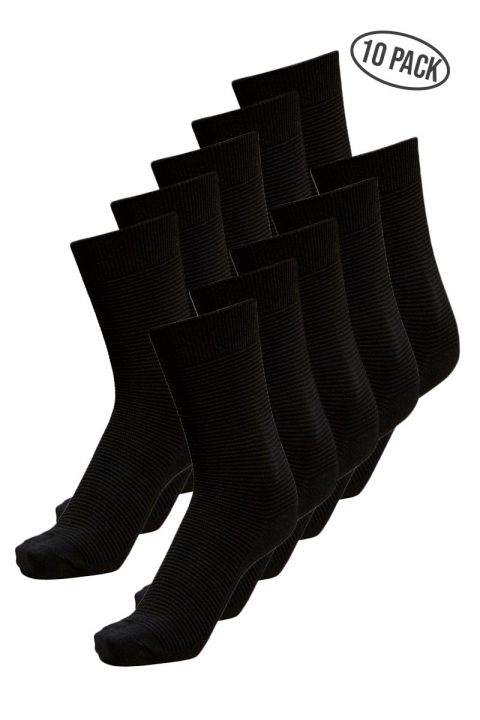 Selected Andrew 10-Pack Strømper Black