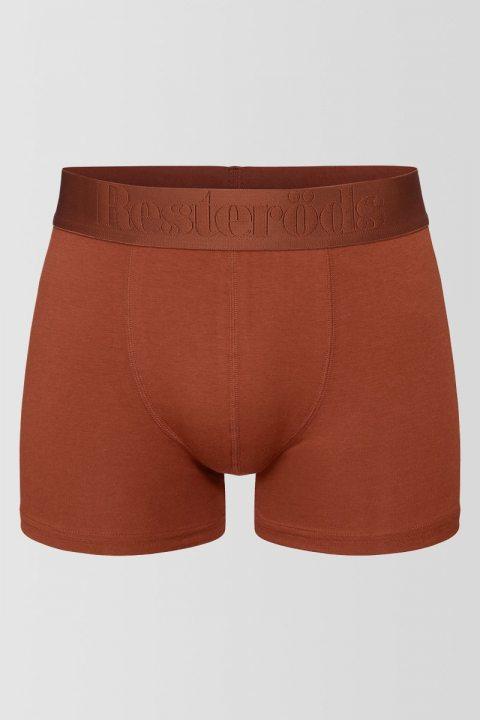 Resteröds Bambu 3-Pack Gunnar Boxershorts Orange/Blue/Black