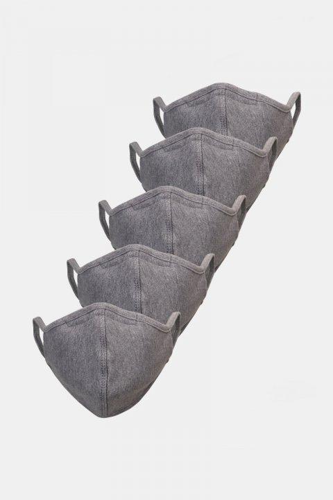 Liebhaveri 5-Pack Mundbind Oxford Grey