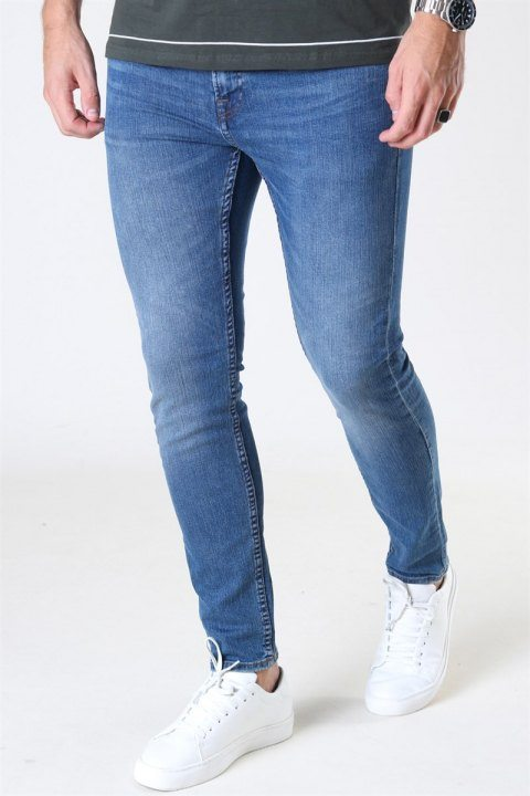 Only & Sons Warp Life Skinny Jeans Blue Denim