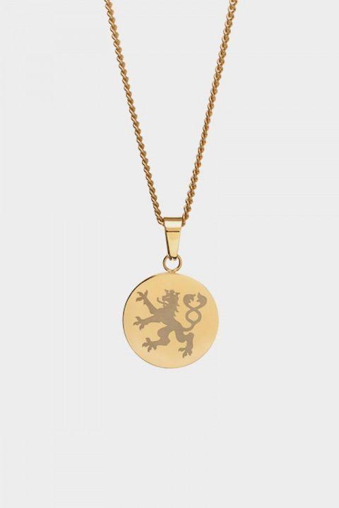 Northern Legacy Lionheart Pendant Halskæde Gold