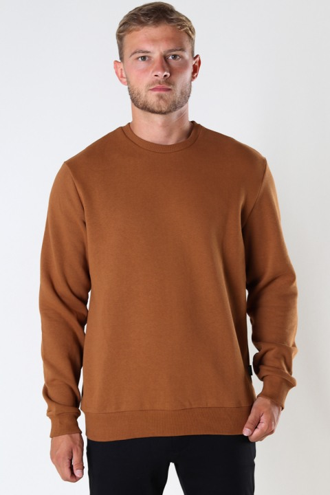 Køb ONLY & SONS ONSCERES LIFE CREW NECK NOOS Monks Robe