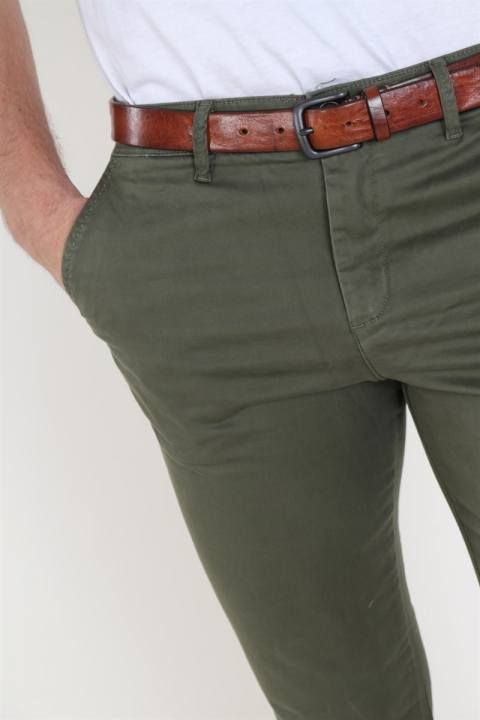 Jack and Jones Marco Bowie Chinos Olive Night