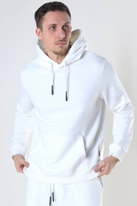 Only & Sons Onsceres Life Hoodie Sweat White
