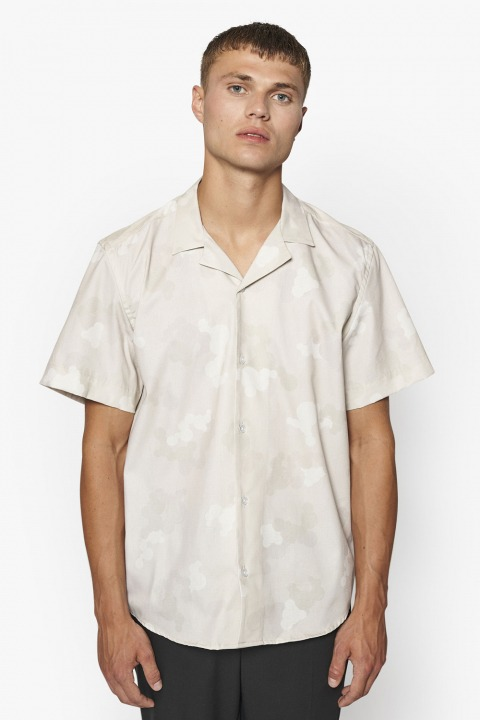 Woodbird Samo Cuba shirt Sand