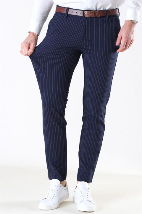 Only & Sons Mark Pant Stripe GW 3727 Night Sky