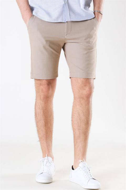 Image of Les Deux Como Light Shorts Light Brown Insence (1583312867-36)